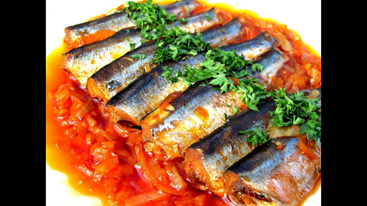 Салака в томатном соусе рецепт в духовке