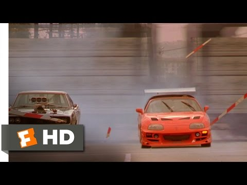 The Fast and the Furious – Brian Races Dominic