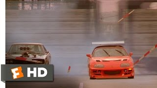 The Fast And The Furious 1010 Movie CLIP - Brian Races Dominic 2001