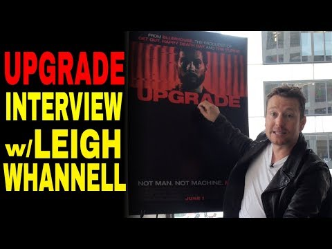 """Exclusive: Leigh Whannell Talks """"Upgrade"""" & Upcoming Horror Project"""
