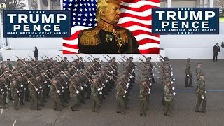 Troops Rehearse for Trump Inauguration Parade