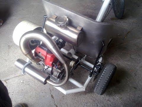 Motorized Drift Trike Battles