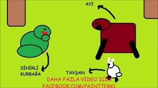 Kurbağa ve Tavşan Hikayesi | Paint Terk