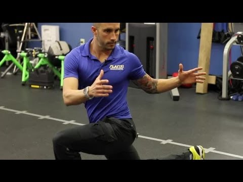 Active Hip Flexor Stretch : Fitness Training Techniques