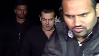 Salman Khan On His Birthday 2016 With Media