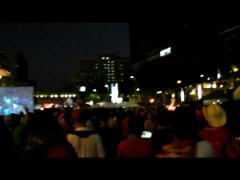 Red shirt at Big C   bangkok 1