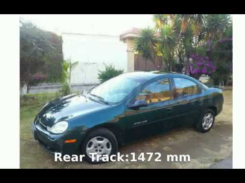 2000 Dodge Neon SE Automatic - Features and Specification