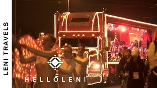 Coke XMAS TRUCK Essen | Leni Travels