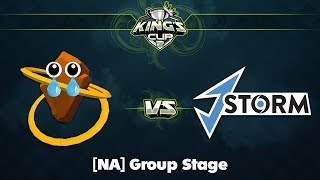 ROOONS vs J.Storm Game 1 - King's Cup 2 NA: Group Stage w/ Dakota, Lacoste, TrentPax & Jenkins