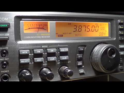 80 meters amateur radio band AM mode 3875 khz
