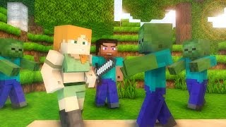 Steve Life 1-5  - Minecraft animation