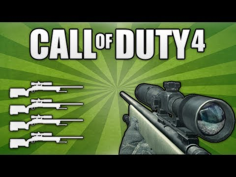 COD4: Quad Feed with Every Gun!