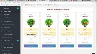 Web trồng cây kiếm tiền của Nga, không phải đầu tư vẫn rút được tiền