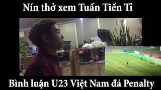 Tổng hợp cảm xúc ăn mừng hài hước của các cổ động viên khi U23 Việt Nam vào bán kết châu á