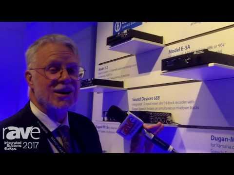 ISE 2017: Dan Dugan Sound Design Intros Model E-3A Automatix Mixer With AES Digital