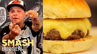 Smash Burger - Hambúrguer artesanal - Hambúrguer caseiro - Sanduba Insano