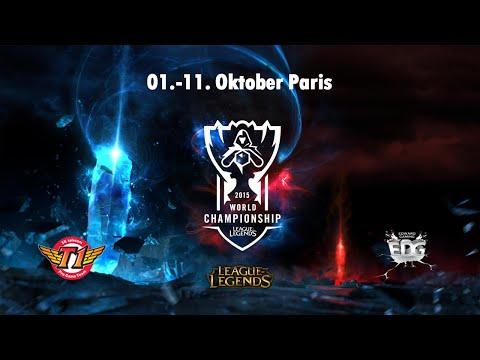 SK Telecom T1 vs. Edward Gaming - Gruppe C, World Championship 2015