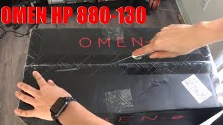HP Omen 880-130 Unboxing
