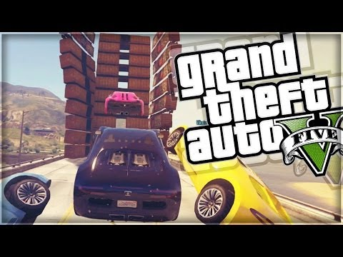 GTA 5 Funny Moments | CRAZY CAPTURE & IMPOSSIBLE RACE!  (GTA V Online)
