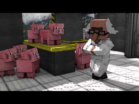 Creeper Science: Lab Tour Preview - Minecraft Animation