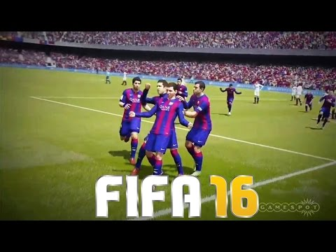 FIFA 16 - Gameplay, Novo Trailer, Messi, Cristiano Ronaldo e Pelé (PS4/XONE/PC/PS3/X360)