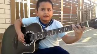 anak kecil nyanyi lagu Metallica Nothing Else Matter (cover by azry)