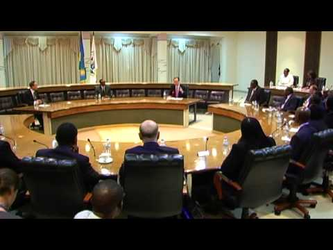 President Kagame receives UN Secretary General, Ban Ki-Moon- Kigali, 23 May 2013