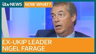 Nigel Farage on 'ludicrous' Brexit plans and what Tommy Robinson petition says about UK | ITV News