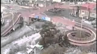 Real Japan Tsunami original video Footage