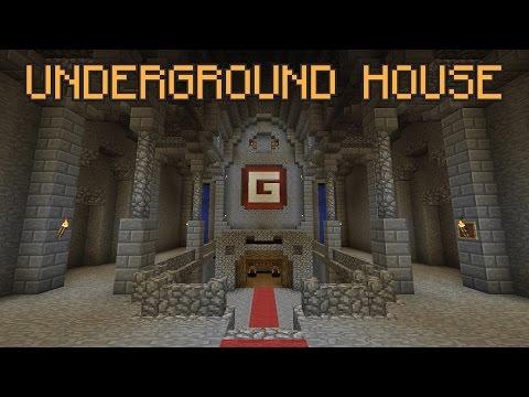 Minecraft Underground Base Tutorial!