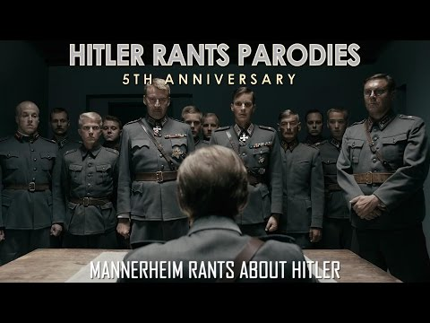 Mannerheim rants about Hitler