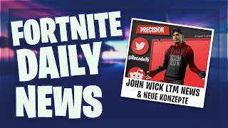 *NEUE* JOHN WICK CHALLENGES & KONZEPTE - Fortnite Daily News (13 Mai 2019)
