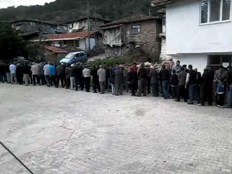 Derbent opruk köyü camide 5 temmuz bayramlaşma