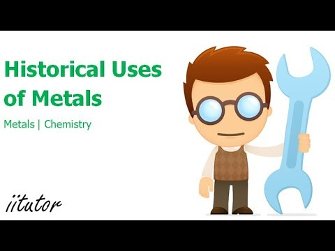 √ Historical uses of Metals - Use of Copper - Use of Iron - Preliminary Chemistry - Chemistry Online
