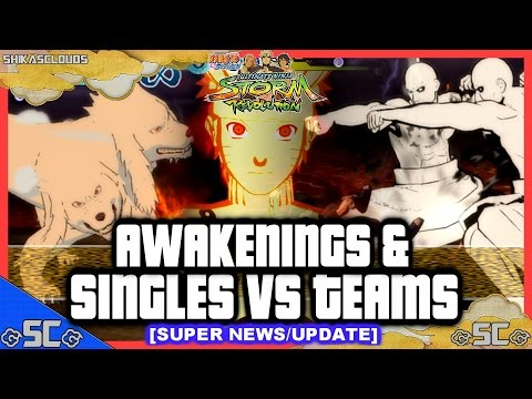 ●super News update - Awakenings & Singles Vs Teams?! | Naruto Revolution ● video