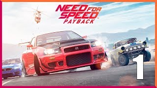 Need for Speed Payback - Parte 1 Español - Walkthrough / Let