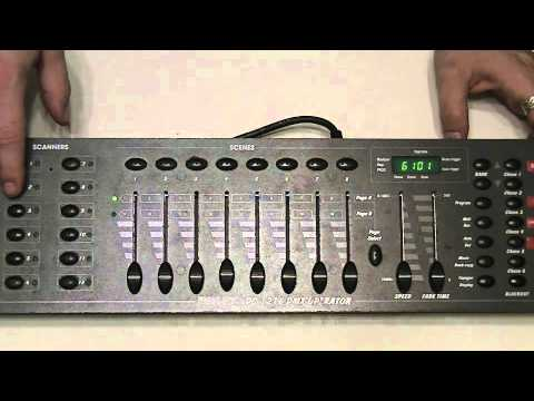 learn to program and use DMX 101 Part 3