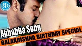 Bala Krishna Birthday Special || Abbabba Video Song || Balakrishna, Tanushree Dutt