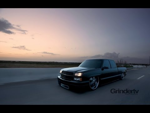 Bagged and Body Dropped 1999 Chevrolet Silverado