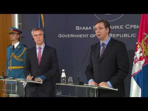 NATO Secretary General with Prime Minister of Serbia, 20 NOV 2015 - Part 1/2