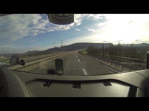 6 Country's 3 Days 1 Truck,GoPro Europe Roadtrip  NL-DE-CH-DE-FR-LU-BE-NL Renault Premium