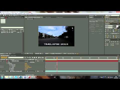 Титры в Premiere Pro. youtube