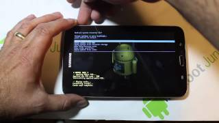 Samsung Galaxy Tab 3 factory reset in Recovery