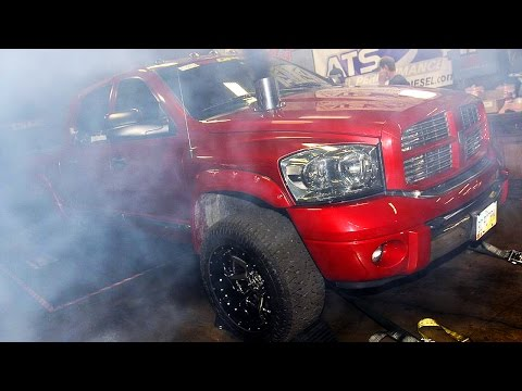 Dyno Testing - Day 1 of Diesel Power Challenge 2014!