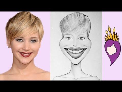 Maddie Draws | Jennifer Lawrence