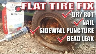 Permanently Fix Flat ATV Tires with TireJect ??