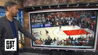 Jalen's Film Breakdown: Damian Lillard's buzzer-beater downs the Thunder in Game 5 | Get Up!
