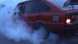 Fso Polonez Burnout