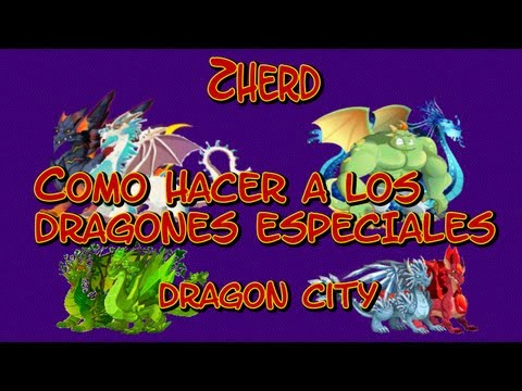 Como sacar a los Nuevos Dragones Raros de Raza Exclusiva en Dragon City 2013 Mayo