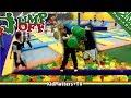 Super Crazy fun at Jump Off Indoor Trampoline Park & Fun Zone [KM+Parks&Rec S01E19] MP3